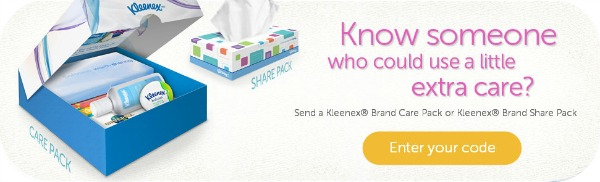 How to get free Kleenex Care Kits