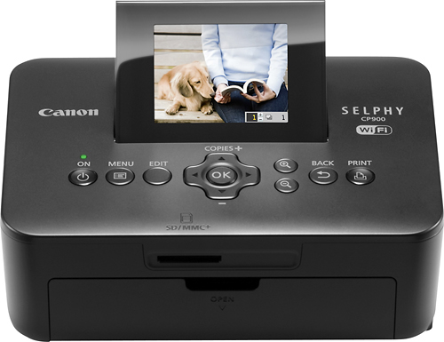 Canon - SELPHY CP900 Wireless Compact Photo Printer