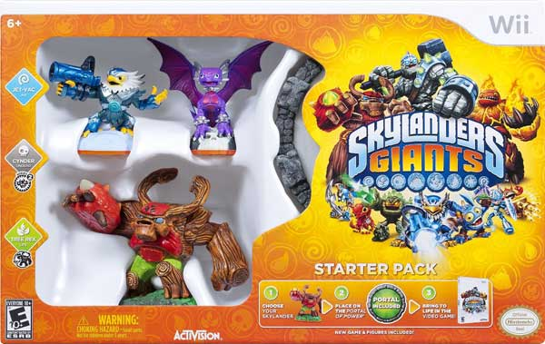 skylanders giants for wii