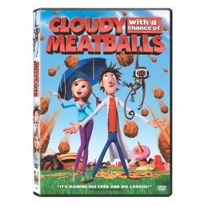 Cloudy with a chance of meatballs cartoon