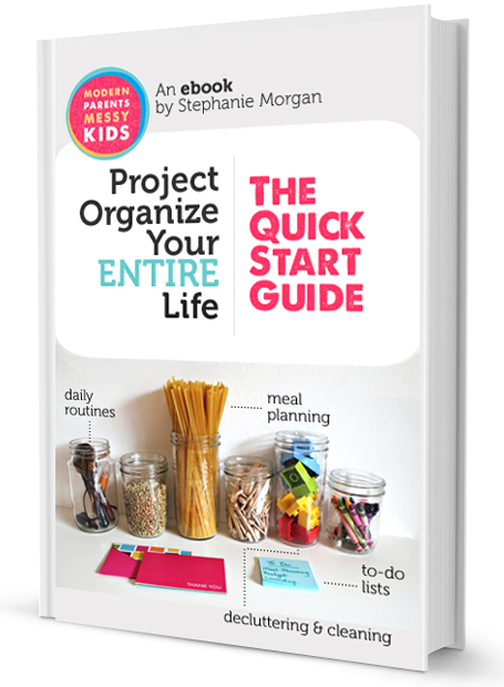 Project Organize Your Entire Life - ebook