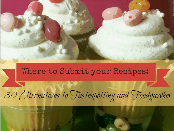 Where to submit recipes: Tips for food bloggers