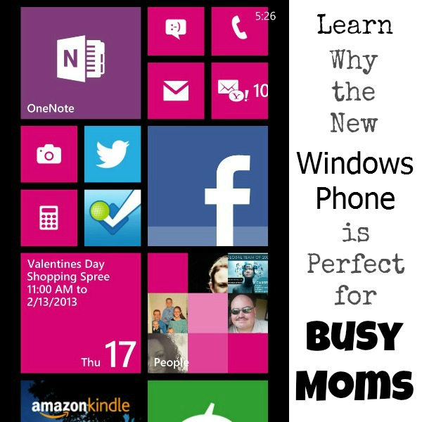 Why Windows phones are perfect for busy moms