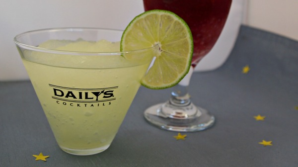 Super simple frozen margaritas