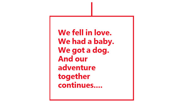 Our love story - how we met, on Windows Phone