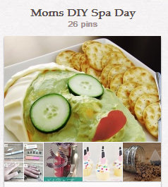 Moms DIY Spa Day