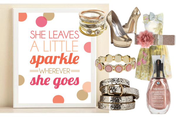 spring sparkle inspired fashion