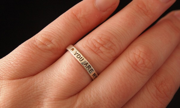 unique hand stamped jewelry
