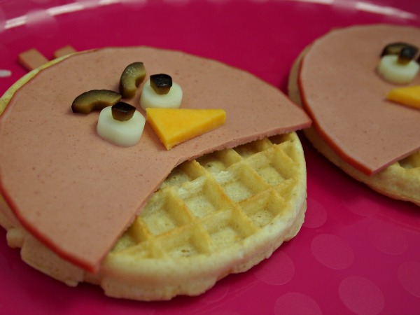 angry birds waffle