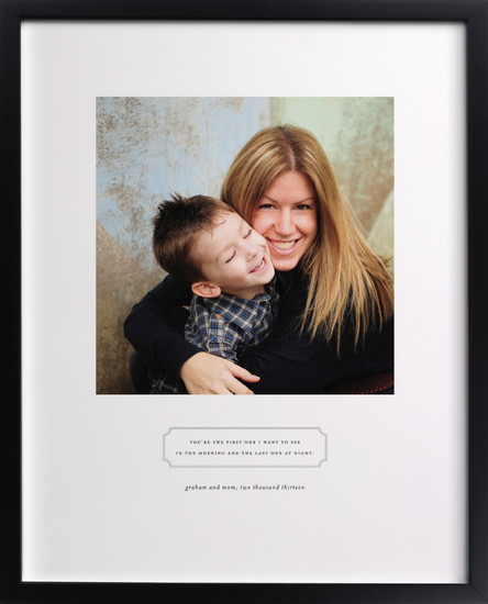 Personalized photo art for Mother's Day