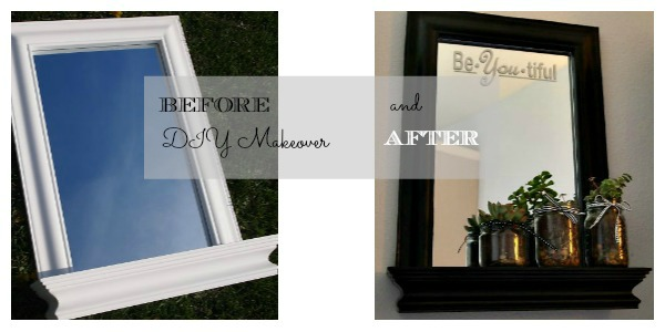 mirror makeover before and after
