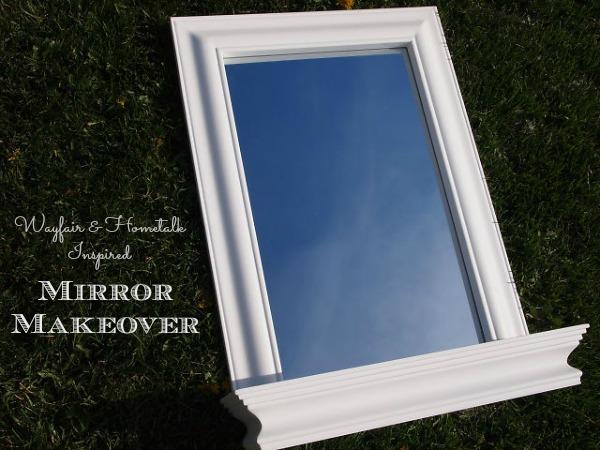 Wayfair Mirror DIY Makeover Challenge