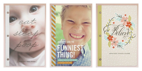 Mother's Day personalized journals