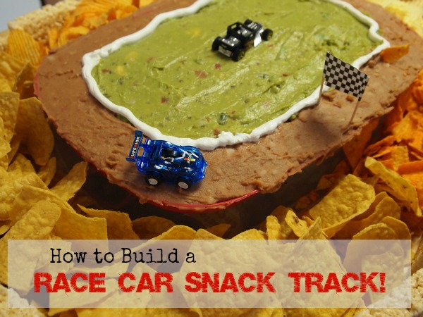 Easy Party Foods – Build a Snack Track for Race Car Parties!