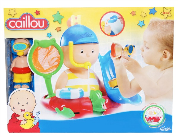 Win a Caillou bath time toy