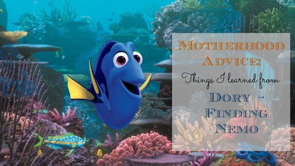 What I Learned About Motherhood from Dory on Finding Nemo – #FindingDory