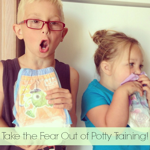 Take the fear out of potty training