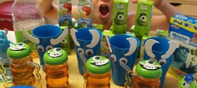 Fun party ideas for Monsters Inc or Monsters U party!