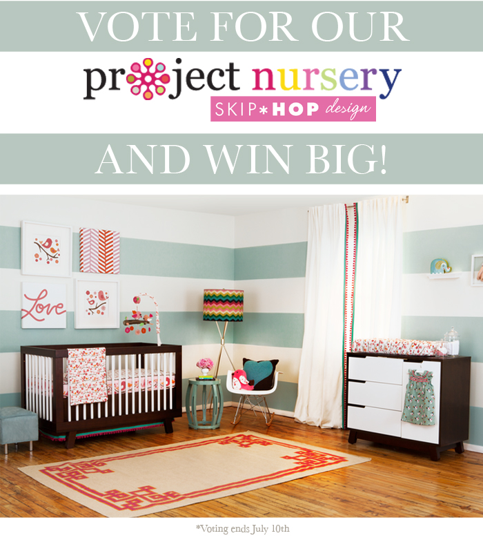 Fab nursery design on a frugal budget