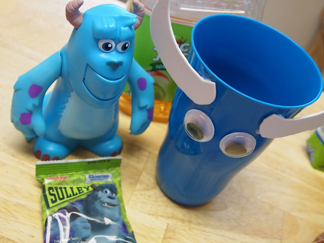 Sully from Monsters U snacks and crafts