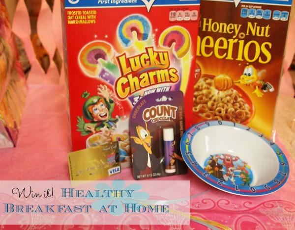 Win it! Healthy Breakfast at Home