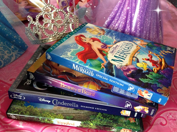 Disney Princess Party Movies
