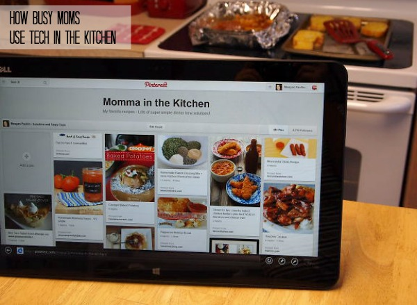How busy moms use tech in the kitchen