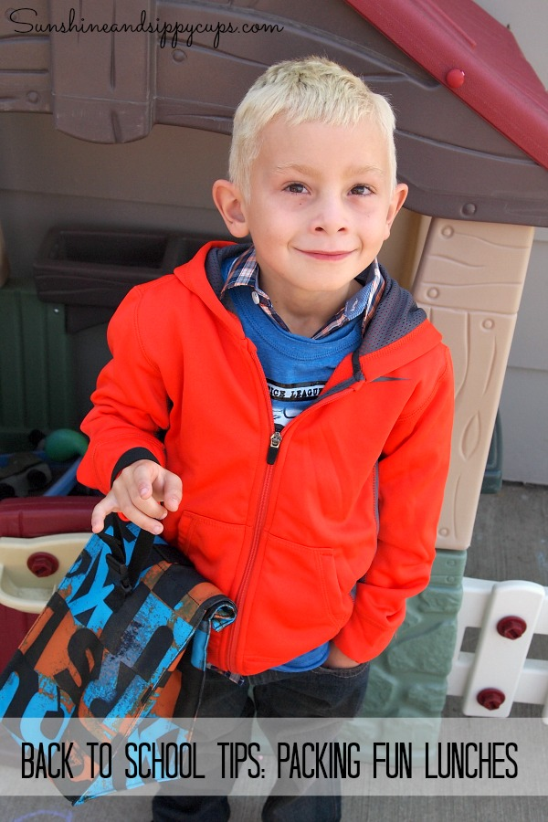 Back to school tips: Packing fun lunches
