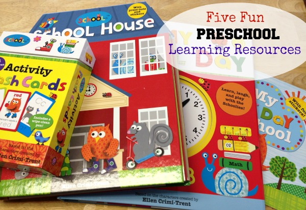 Five fun preschool learning resources