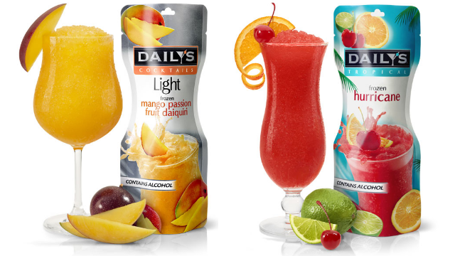 Daily's Pouches - the easiest way to make frozen cocktails