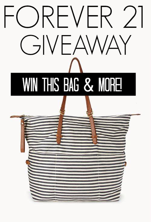 Forever 21 Fashion Giveaway!