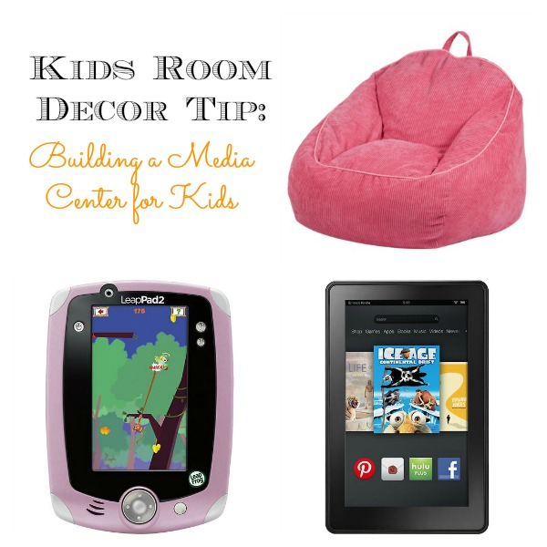 Kids Room Decor Tip Building a Media Center for kids
