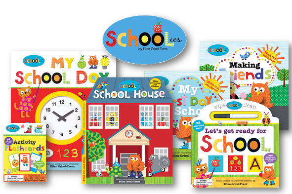 Schoolies books and learning tools to prep for preschool