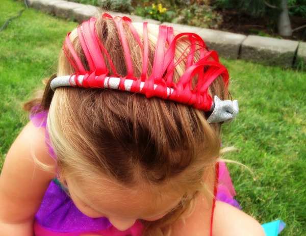 DIY Ariel Headband