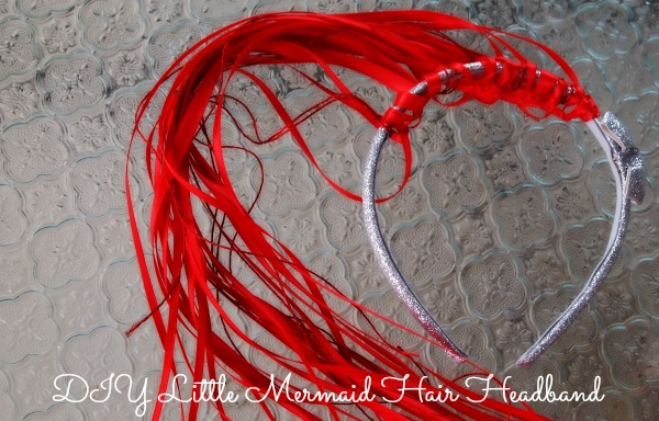 DIY Little Mermaid Hair Headband