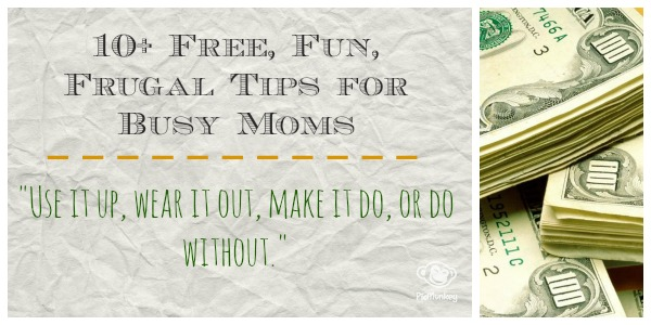 How to find free and frugal stuff - for moms