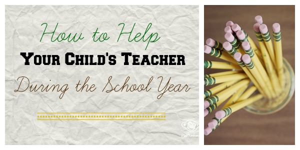 How to help teachers all year long