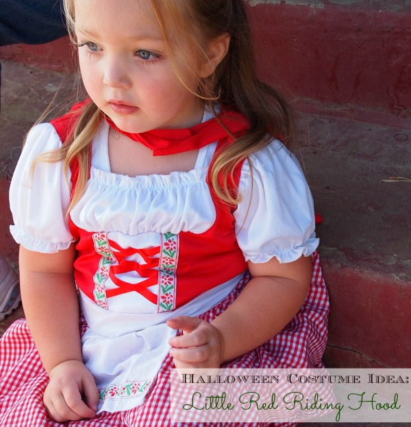 Halloween Costume Idea for Kids – Little Red Riding Hood