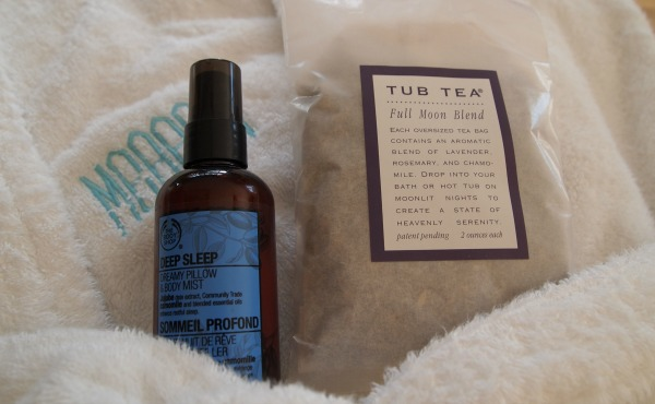 How I find me time - bath tea, and nighttime sleep spray