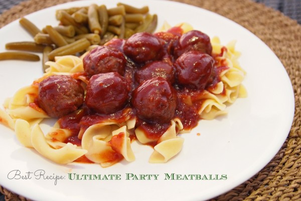 Ultimate Party Meatballs Recipe