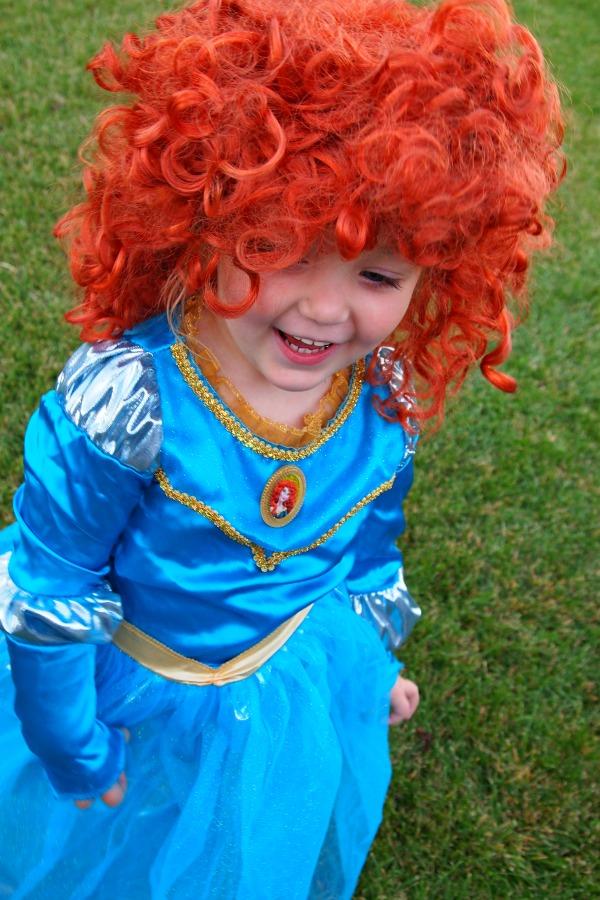 Merida Halloween costume, Merida from Brave