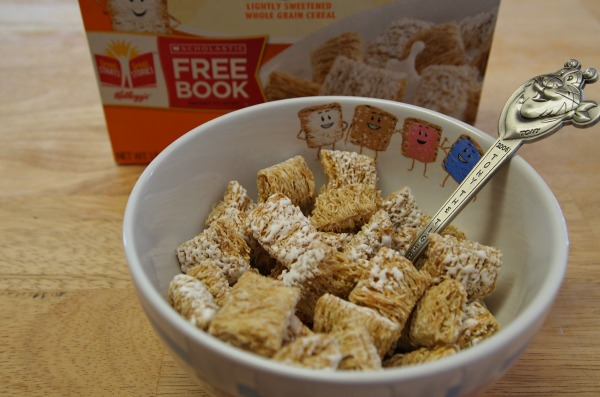 Frosted Mini Wheats are high in fiber