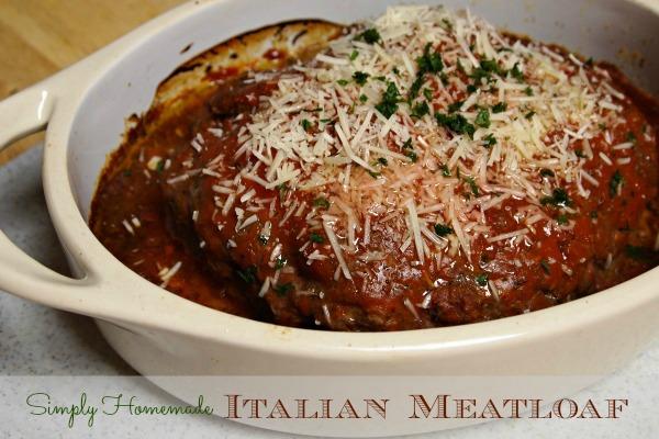 10 Minute Italian Meatloaf Recipe
