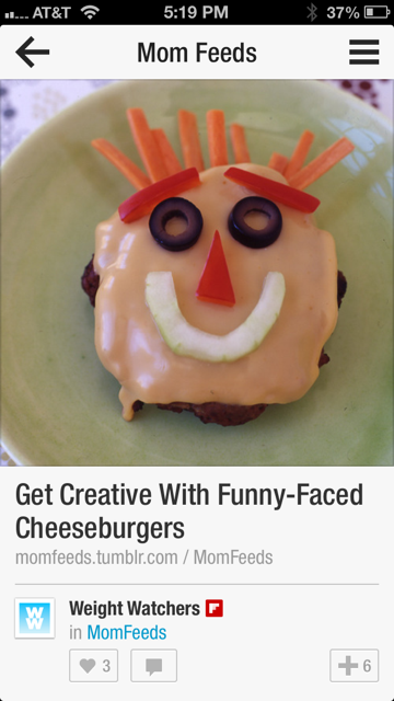 Funny face kid's recipe - funny face burgers
