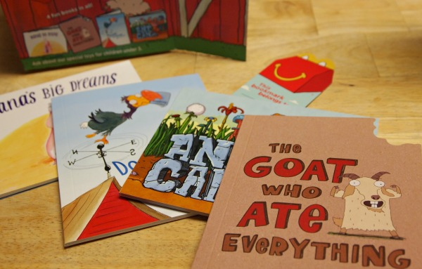 McDonald's Happy Meals have books in November