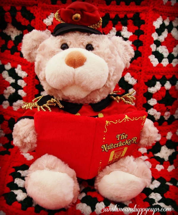 Nutcracker Teddie from Cuddle Barn