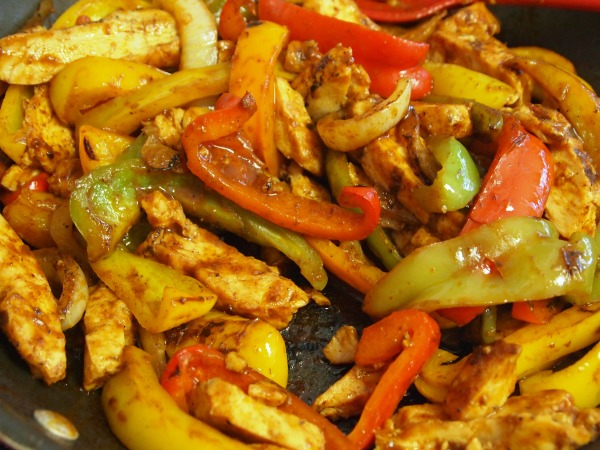 15 minute chicken fajitas