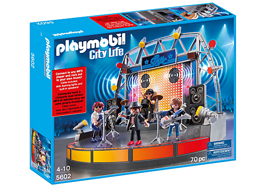 Playmobil Pop Stars Stage Playset