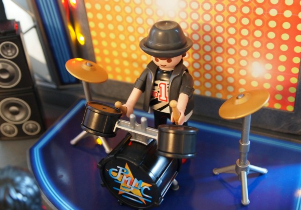 PLAYMOBIL Pop Star Set Rocks - with MP3 Player Capability
