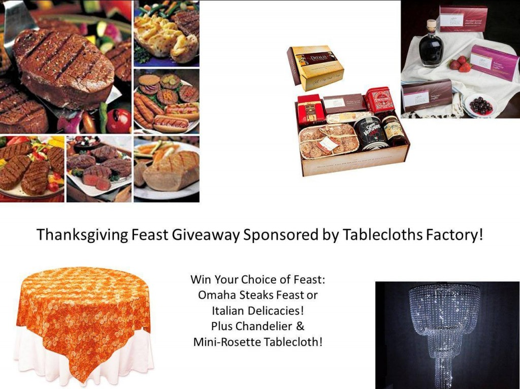 Win a  Full Thanksgiving Feast & Holiday Decor!
